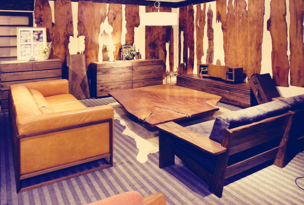 ウォールナット家具