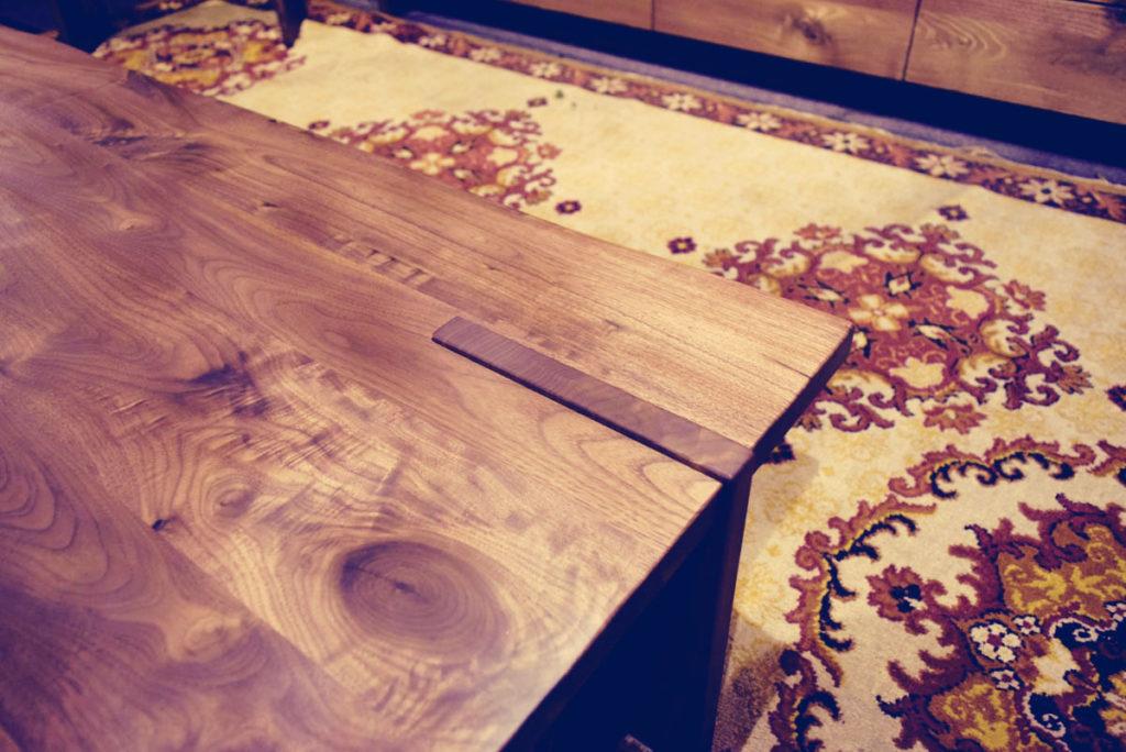 ウォールナットソファーテーブル天板