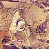 昭和レトロ 現役の扇風機